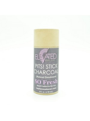 Elevated Pits! Charcoal Stick Natural Deodorant