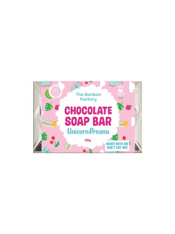 Bonbon Unicorn Dreams Chocolate Soap Bar