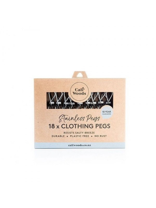 Caliwoods Stainless Steel Pegs - 18pk