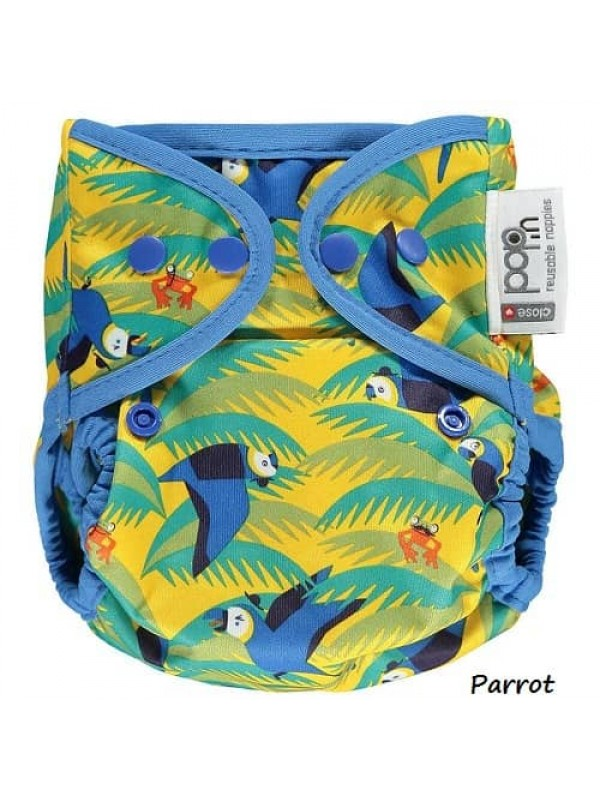 V2 Pop-in One-Size Nappy - Prints (snaps)