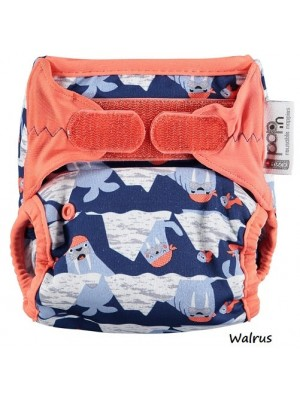 V2 Pop-in One-Size Nappy - Prints (hook & loop)