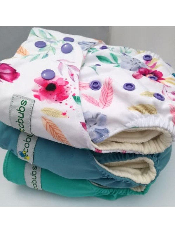 Ecobubs Essentials One-Size Nappy - Bundle