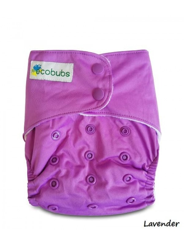 Ecobubs Essentials One-Size Nappy - Natural Lining V2