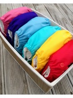 Ecobubs Essentials One-Size Nappy - Rainbow Pack