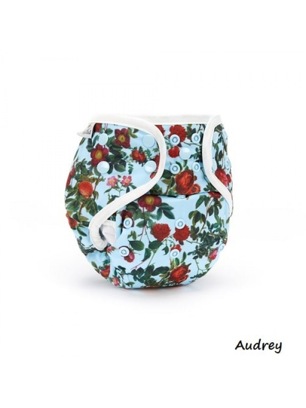 Fudgey Pants Original Nappies - Bamboo/Microfibre Insert and Booster