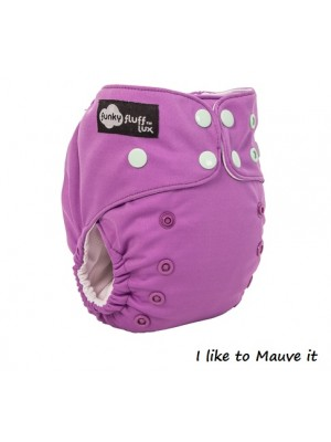Funky Fluff LUX Nappy - Bamboo Lining