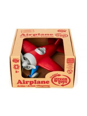 Green Toys - Red Airplane