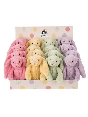 Jellycat Bashful Pastel Bunnies
