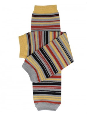 JuDanzy Leg Warmers - Knight Stripe