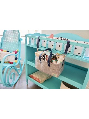 Luludew 3-in-1 Nappy Caddy