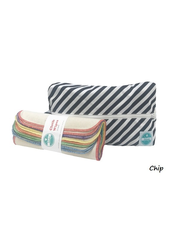 Luludew Wipe Bag Sets Wet Bag And 12 Wipes