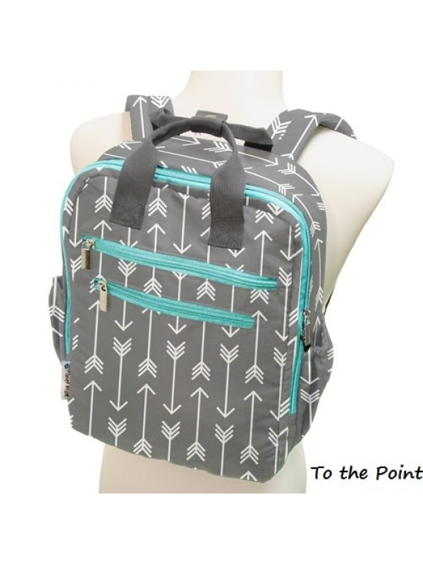 "Planet Wise ""Oh Lily"" Perfect Backpack"