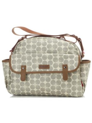 Babymel Molly - Grey Floral Dot