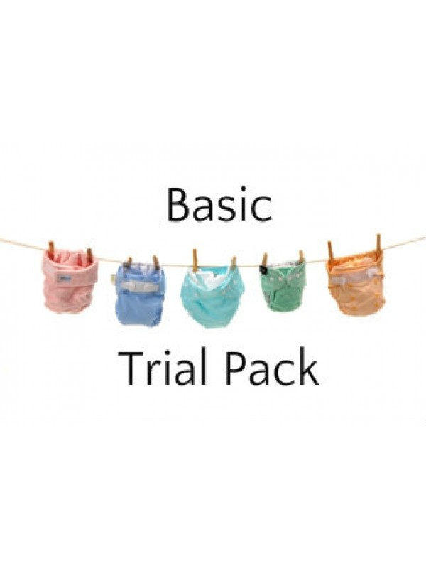 Basic - 3 Nappy Options
