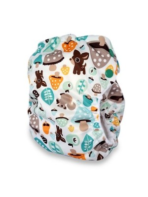 Ecobubs PUL Pocket - Woodland Friends