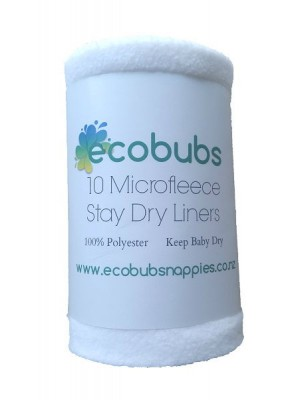 Ecobubs Stay Dry Liners - 10 pack