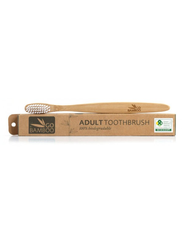 Go Bamboo Adult Toothbrush
