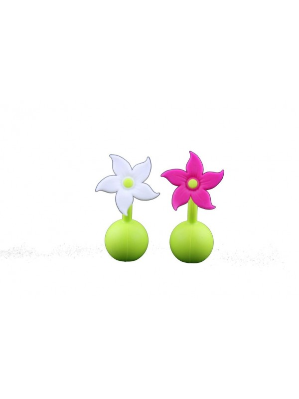 Haakaa Silicone Breast Pump Flower Stoppers
