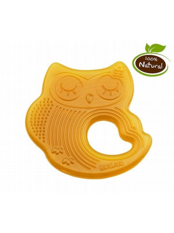Haakaa Natural Rubber Owl Teethers
