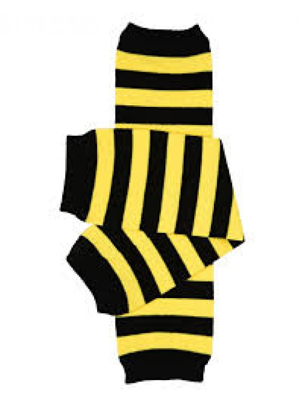 JuDanzy Leg Warmers - Bee Stripe
