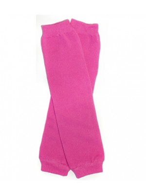 JuDanzy Newborn Leg Warmers - Hot Pink
