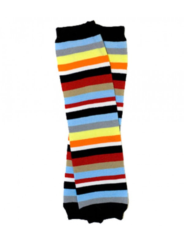 JuDanzy Leg Warmers - Michael Stripe