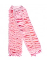 JuDanzy Rouched Leg Warmers - Pink