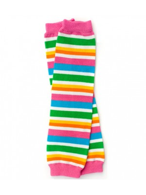 JuDanzy Leg Warmers - Retro Stripe
