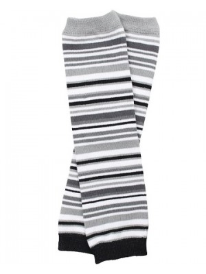 JuDanzy Leg Warmers - Urban Stripe