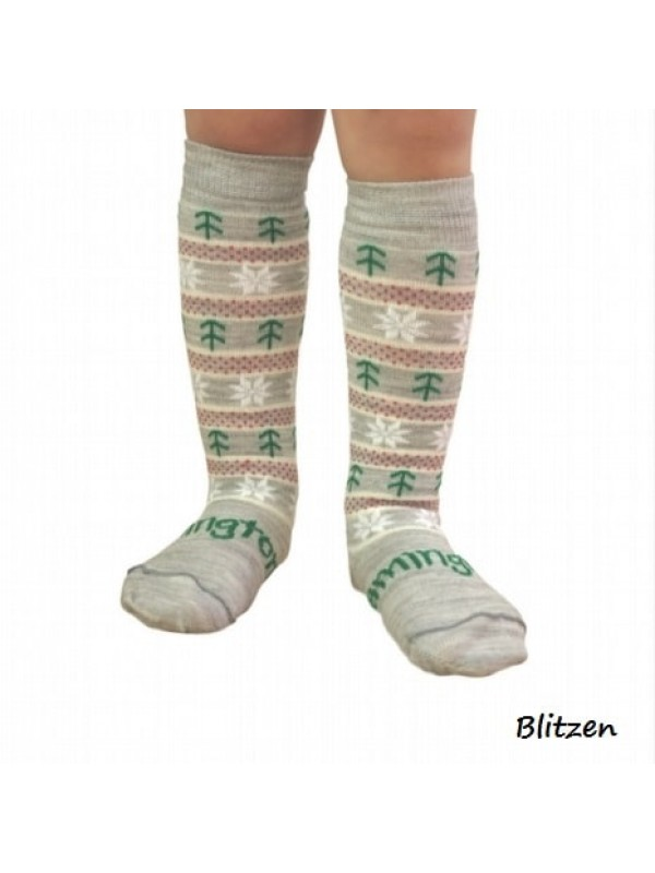 Christmas Lamington Socks - Blitzen