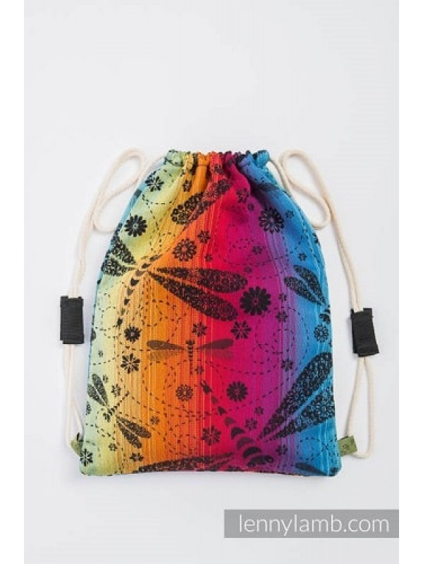 Lenny Lamb Ergonomic Carrier - Dragonfly Rainbow Dark