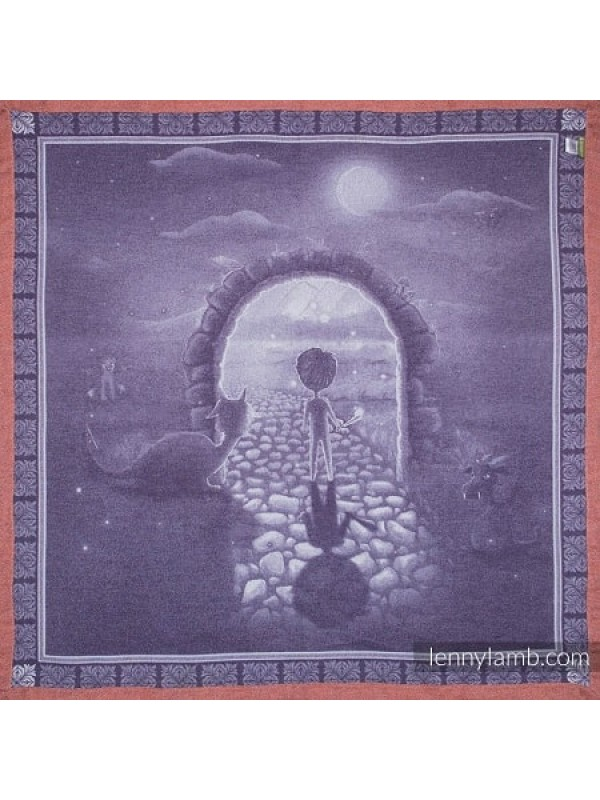 Lenny Lamb Woven Blanket - Two Side Story