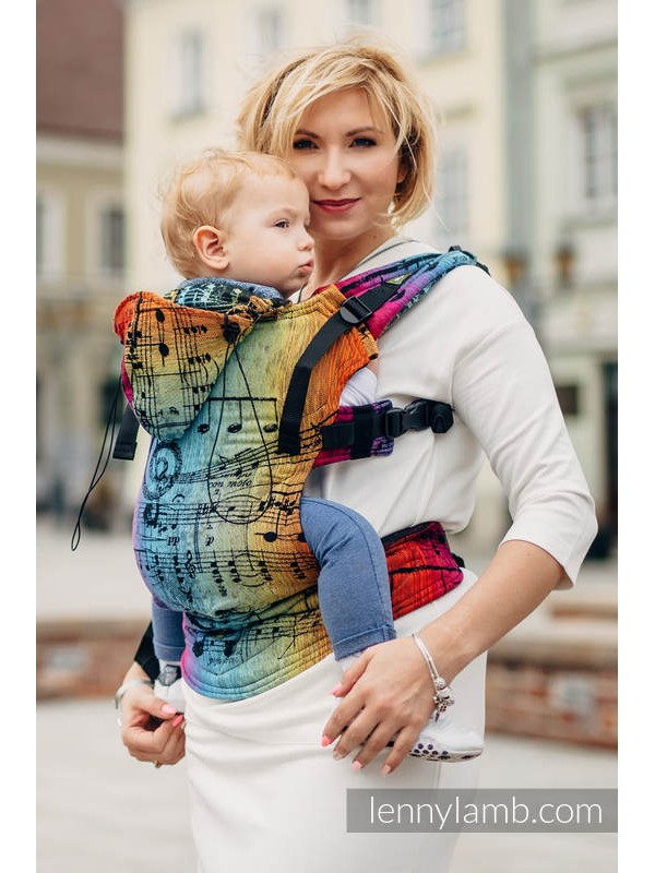 Lenny Lamb Ergonomic Carrier - Symphony Rainbow Dark