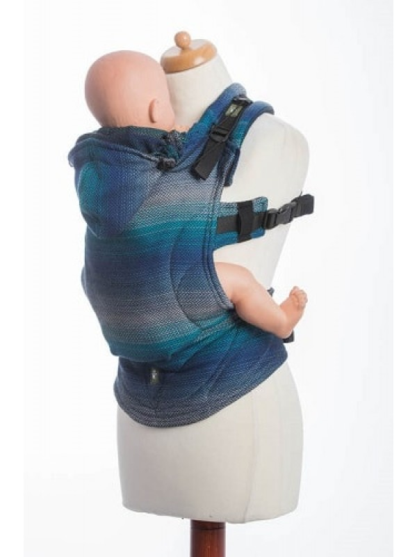 Lenny Lamb Ergonomic Carrier - Little Herringbone Illusion