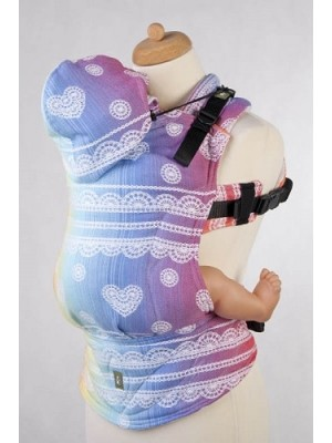 Lenny Lamb Ergonomic Carrier - Rainbow Lace