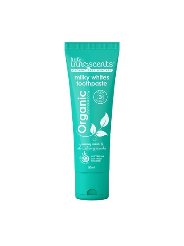 Organic Milky White Toothpaste - 50ml