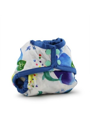 Rumparooz Newborn Nappy Cover - Lava
