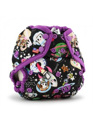 Rumparooz OSFM Nappy Cover - TokiSpace Orchid