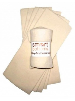Smart Bottoms Stay Dry Liners - 5 Pack
